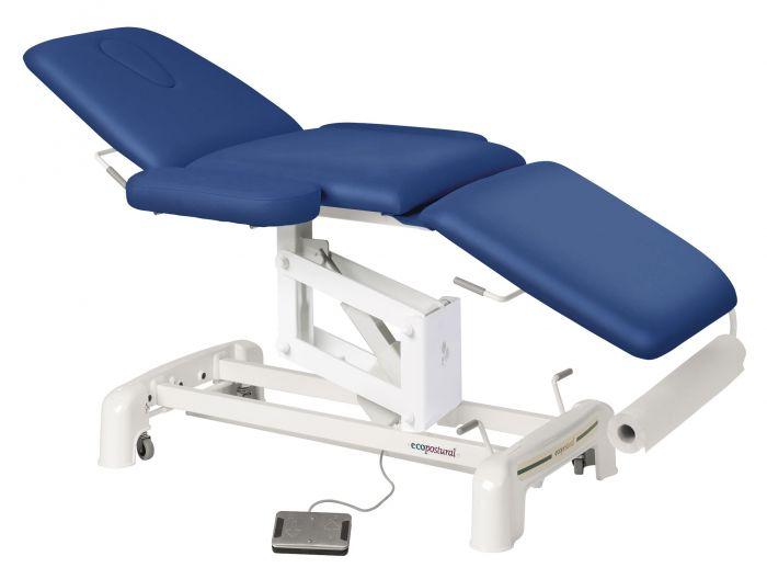 Lettino da massaggio elettrico con poggiabraccia Ecopostural C3516M41