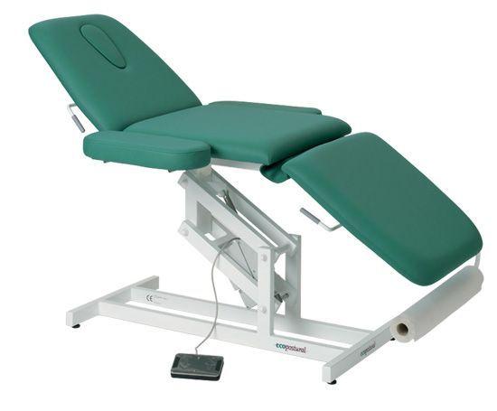Lettino da massaggio elettrico 3 piani con braccioli Ecopostural C3589M41