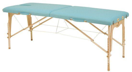 Lettino da massaggio altezza regolabile con tensori Ecopostural C3211