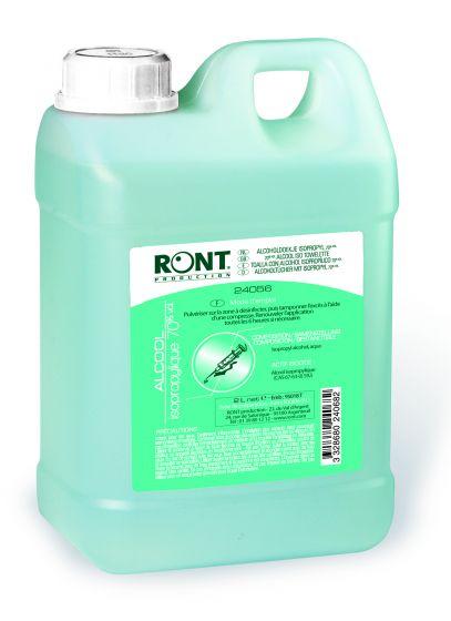 Alcool isopropilico 70° Ront - Bidone da 2 L