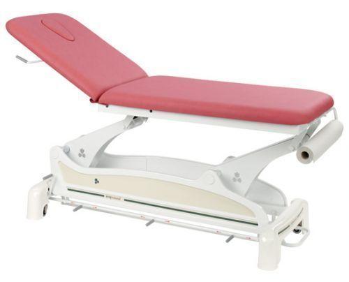 Lettino da massaggio elettrico 2 zone con barra perimetrale Ecopostural C3533