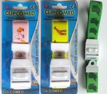 Laccio emostatico per bambini Clipcomed verde
