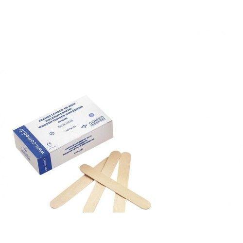 Abbassalingua in legno per adulti Comed (confezione da 100)