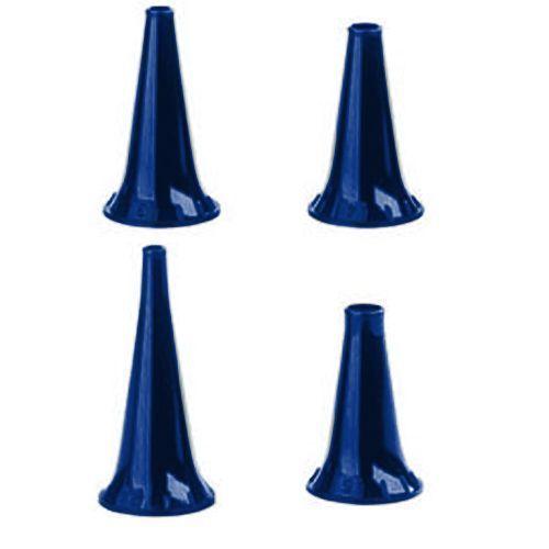 Speculum riutilizzabili blu per otoscopi Heine Alpha +