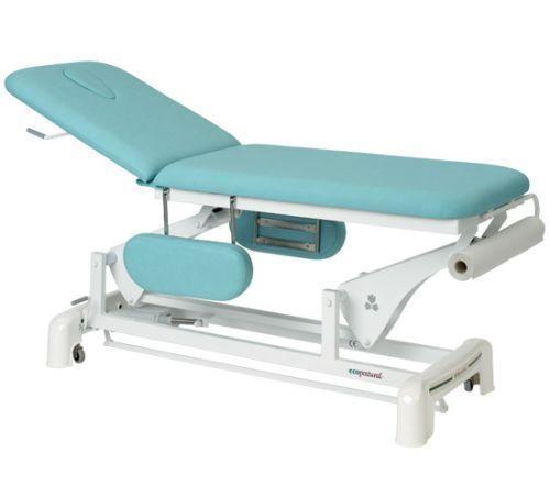 Lettino da massaggio elettrico 2 piani con braccioli Ecopostural C3554