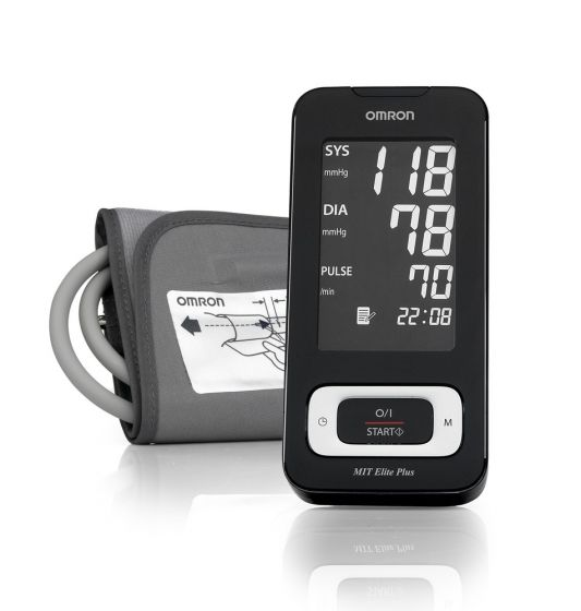 Misuratore di pressione elettronico da braccio Omron MIT ELITE Plus HEM-7301-ITKE
