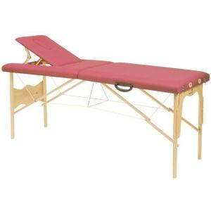 Lettino da massaggio con tensori altezza fissa Ecopostural 3015