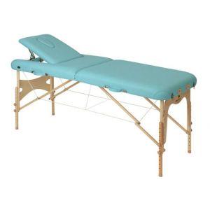 Lettino da massaggio pieghevole con tensori Ecopostural C3609M63