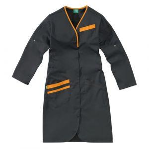 Camice medica da donna NOMIA 8MLC00PC Carbone/Arancione melone