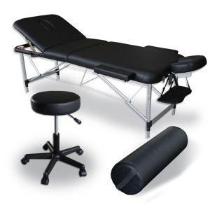 Pack Massaggio Mediprem lettino da Massaggio pieghevole Eco Pro Alu