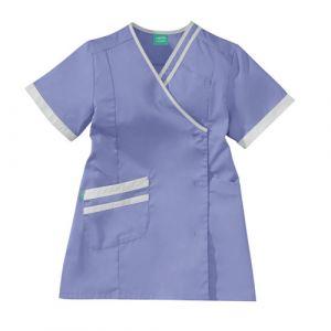 Casacca medica da donna LILEE 8TCC00PC Parma/Bianco