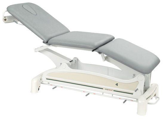 Lettino da massaggio elettrico 3 zone con barra perimetrale Ecopostural C3557