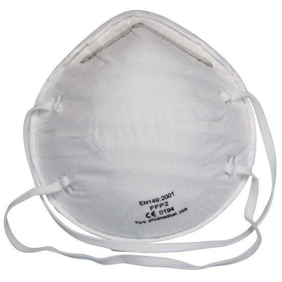 20 mascherine protettive FFP2