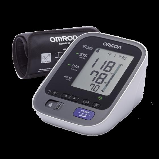 Misuratore di pressione digitale da braccio Omron M7 Intelli IT