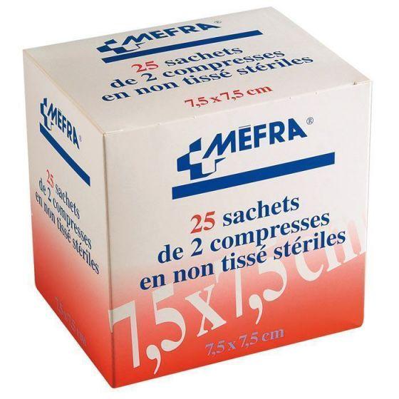 Compresse sterili non tessute 3M Mefra - 1 confezione