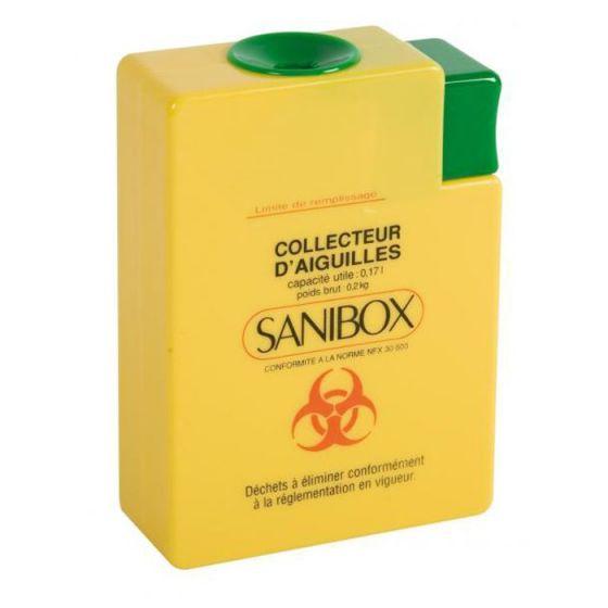 Collettore di aghi usati Sanibox Comed