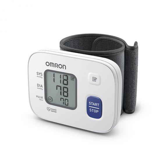Misuratore di pressione Elettronico per polso Omron RS2 HEM-6121-E