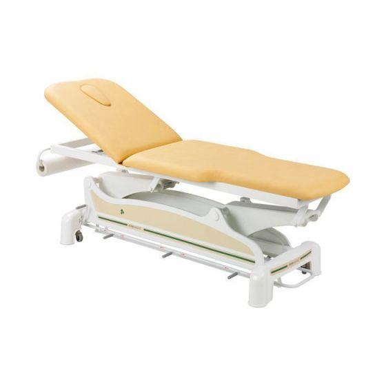 Lettino da massaggio elettrico con braccioli Ecopostural C3562M44