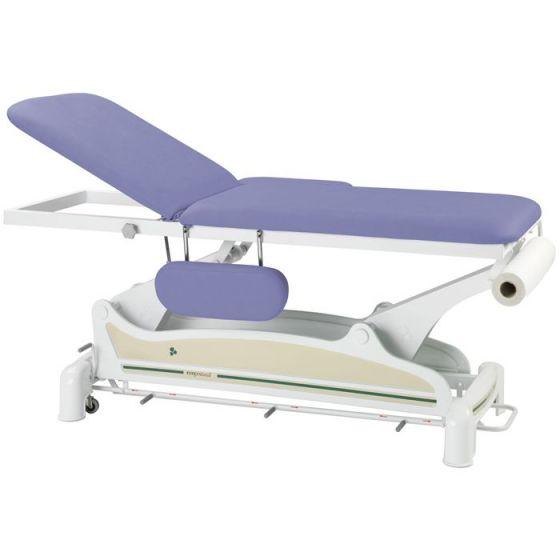 Lettino da massaggio elettrico 2 piani con barra periferica Ecopostural C3551
