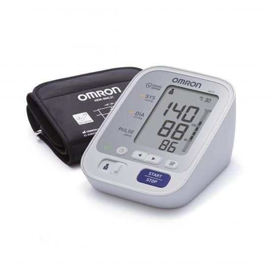 Misuratore di pressione elettronico da braccio Omron M3 IT HEM-7131U-E con connessione USB