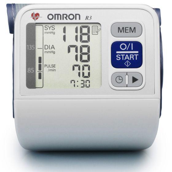 Misuratore di pressione elettronico da polso Omron R3-i Plus