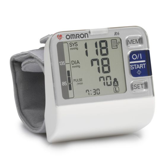 Misuratore di pressione elettronico da polso Omron R6 HEM-6052-E