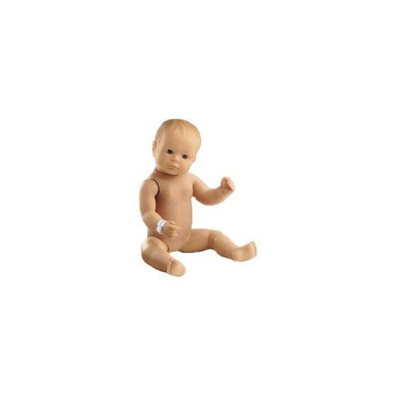 Modello di neonato articolato per puericultura