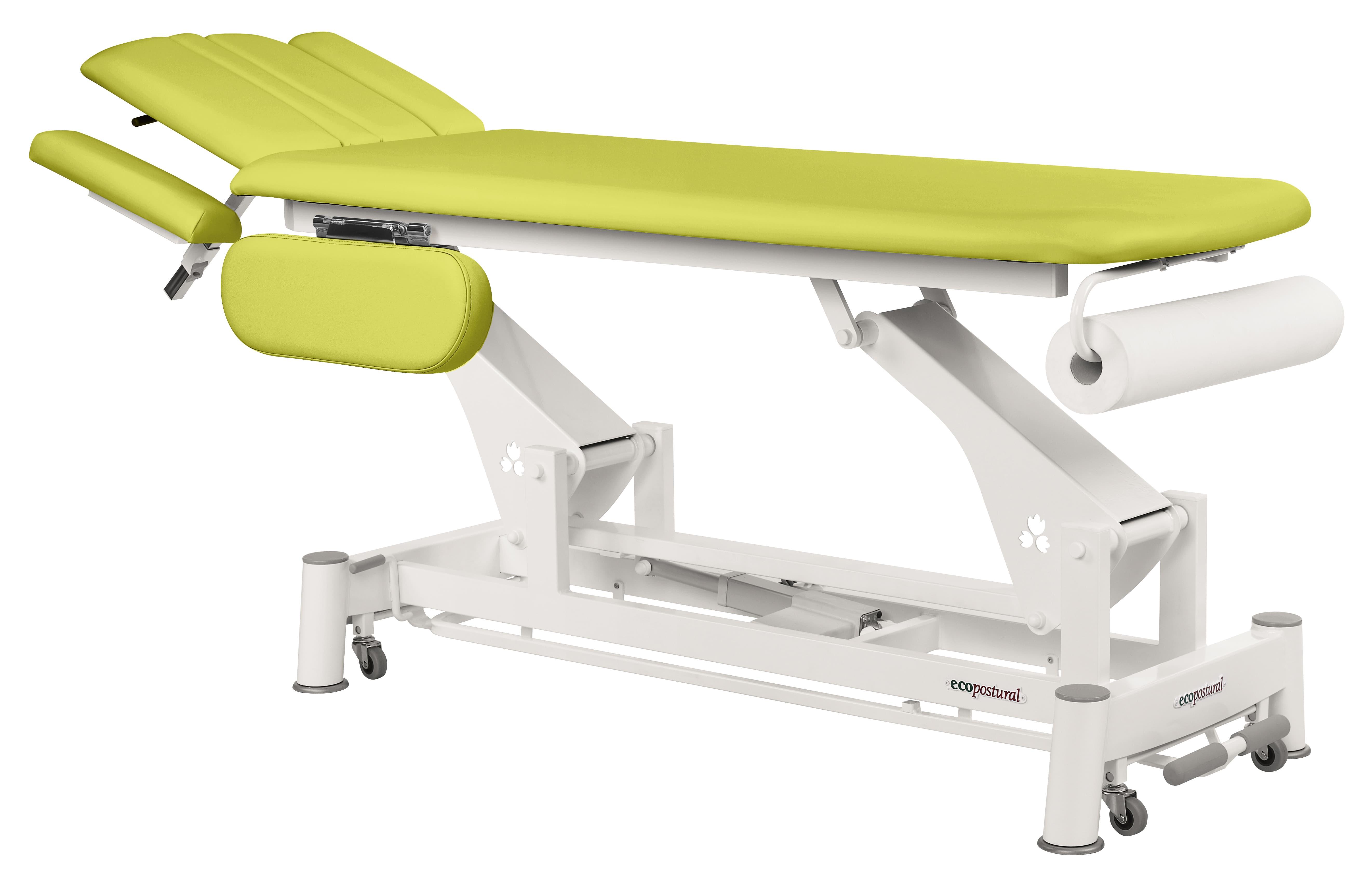 Lettino massaggio elettrico per osteopatia ecopostural a
