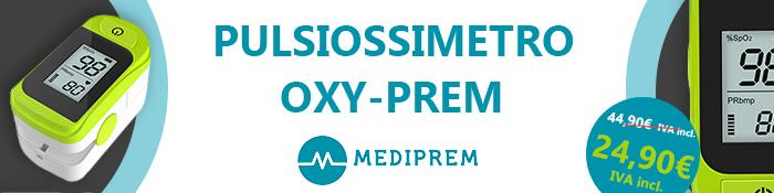 PULSIOSSIMETRO OXY-PREM MEDIPREM