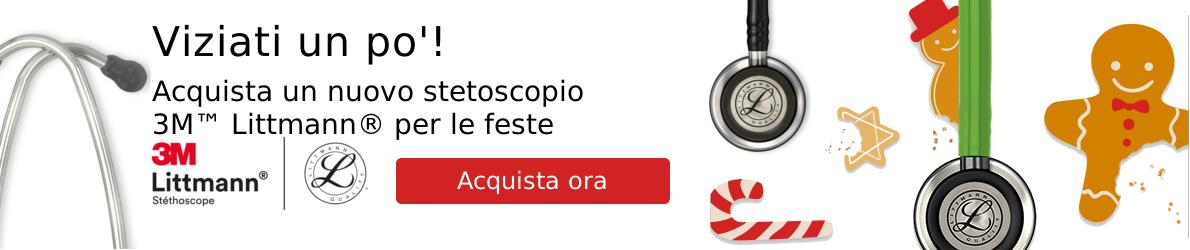 Stetoscopio Littmann Natale Home 2016